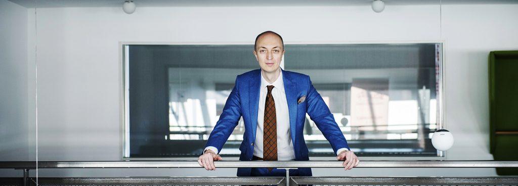 Pierre-Nicolas Schwab, directeur de l'agence d'études de marché IntoTheMinds, dans ses bureaux belges
