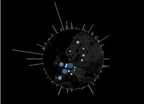 Tutoriel Tableau : un diagramme radial et une carte circulaire